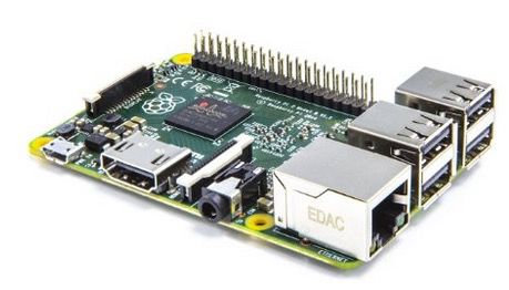 Raspberry Pi 2 Model B 1GB für 34,90 €   ohne Betriebssystem