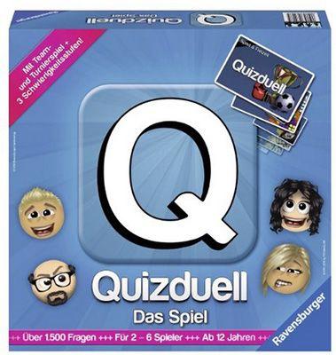 Ravensburger Quizduell Ravensburger Quizduell Brettspiel für 19,99€   über 1.500 Fragen