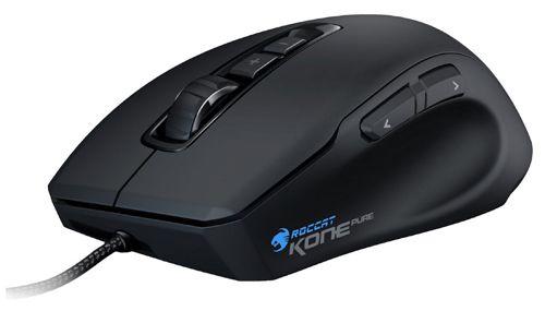Roccat Kone Pure Optical Roccat Kone Pure Optical Gaming Maus (5000 dpi, 7 programmierbare Tasten) für 39,90€   Update