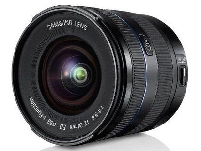 Samsung EX W1224ANB 12 24mm F4 5.6 ED Weitwinkelobjektiv für 353,33€
