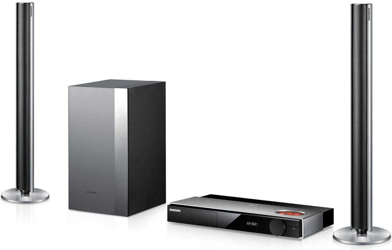 Samsung HT FS9209 2.1 Blu ray Heimkinoanlage mit WLAN, 3D und Röhrenverstärker für 299,90€   Update!