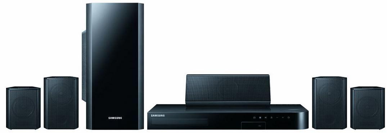 Samsung HT H5500 Samsung HT H5500   5.1 Heimkinosystem mit 3D Blu ray Player für 175€
