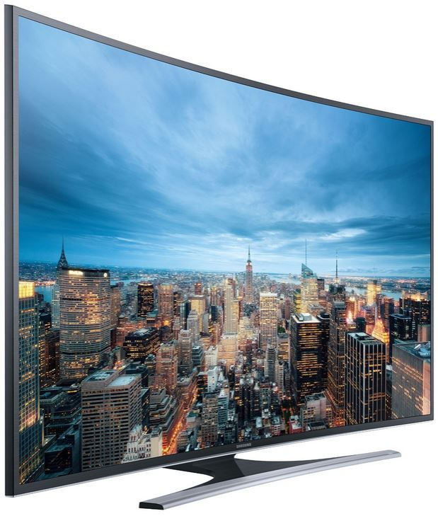 Samsung UE55JU6560   55 Zoll Curved Smart TV mit triple Tuner, PVR, Sprachsteuerung für 1.349,99€