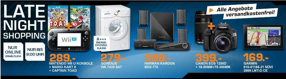 CANON EOS 1200D   Spiegelreflexkamera +18 55 +75 300mmObjektive ab 394€ und mehr top Saturn Late Night Shopping Angebote   Update!