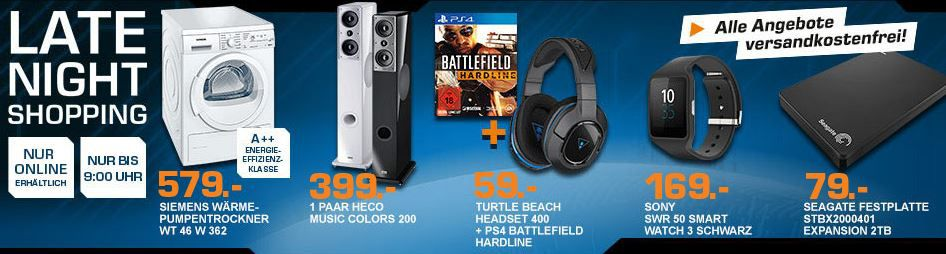 Saturn late night Battlefield Hardline   PS4  + Turtle Beach Ear Force Stealth 400 ab 79€ und mehr top Saturn Late Night Shopping Angebote   Update