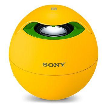 Sony SRS BTV5 (Brazil Edition) für 24,99€   tragbarer Bluetooth Lautsprecher mit 360° Rundumklang und NFC