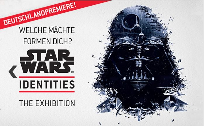 StarWars STAR WARS Identities Ticket + 4* Leonardo Hotel Köln Bonn Airport ab 56€ pro Person