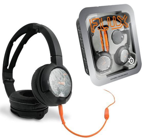 SteelSeries Luxury Edition Flux Gaming Headset SteelSeries 61283 Luxury Edition Flux Gaming Headset für nur 19,90€