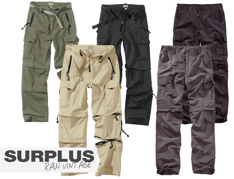 SURPLUS Raw Vintage   Trekking und Quickdry Hosen/Shorts für je nur 29,90€