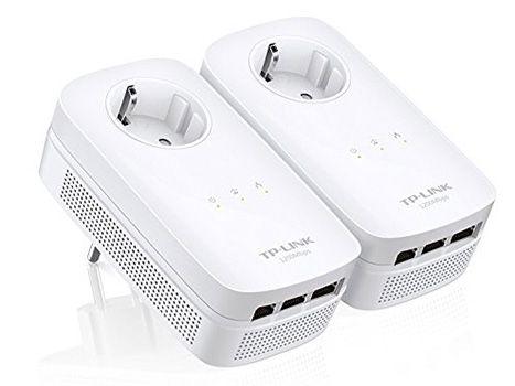 TP LINK TL PA8030P AV1200 TP LINK TL PA8030P AV1200 Kit Powerline Netzwerkadapter für 111€