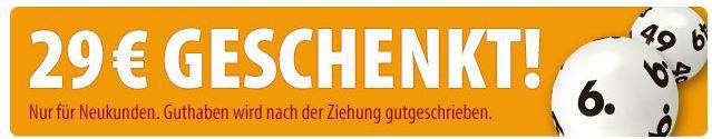 Tipp24 Tipp24: Hammer Neukunden Aktion mit 7 Felder Lotto 6 aus 49 für 1,50€ + 29€ Guthaben