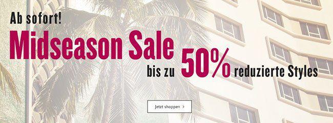 Tom Tailor Mid Season Bis zu 50% Rabatt im Tom Tailor Mid Season Sale + 10% Gutschein + VSK frei