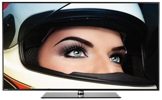 Toshiba 55L5445DG Toshiba 55L5445DG   55 Zoll 3D Full HD Fernseher mit WLAN und Triple Tuner für 599€