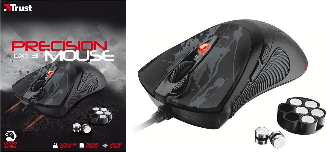 Trust GXT 31 Gaming Maus für nur 19,99€