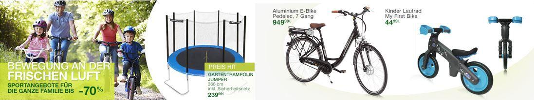 Amazon Ultrasport Aktion: Fahrrad, Tennis und Angel Zubehör im Sale!