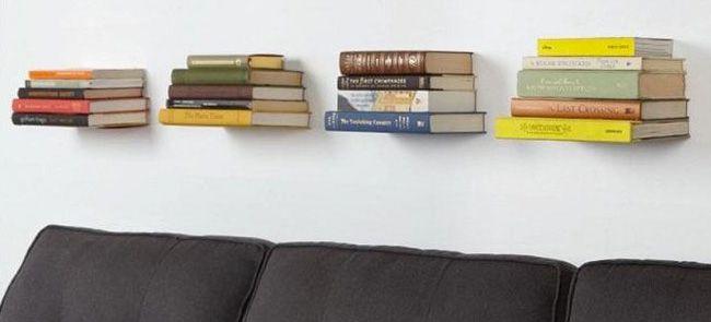 Schwebende Bücher dank unsichtbaren Regal für 7,34€ - China ...