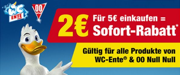 WC Ente Coupon