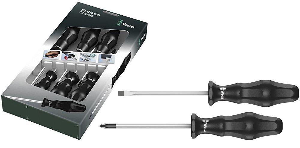 Wera Werkzeug  WERA Schraubendrehersatz im 6er Set für nur 8,88€