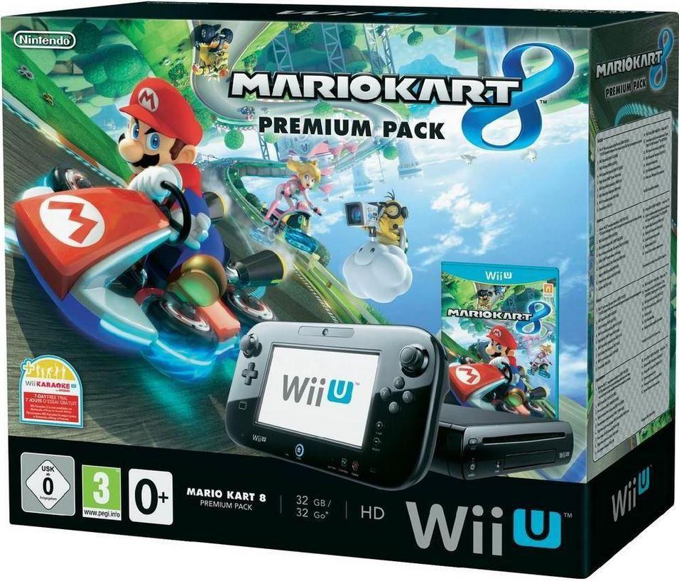 Wii U Nintendo Wii U Premium Pack + Mario Kart 8 für 239,90€   Update