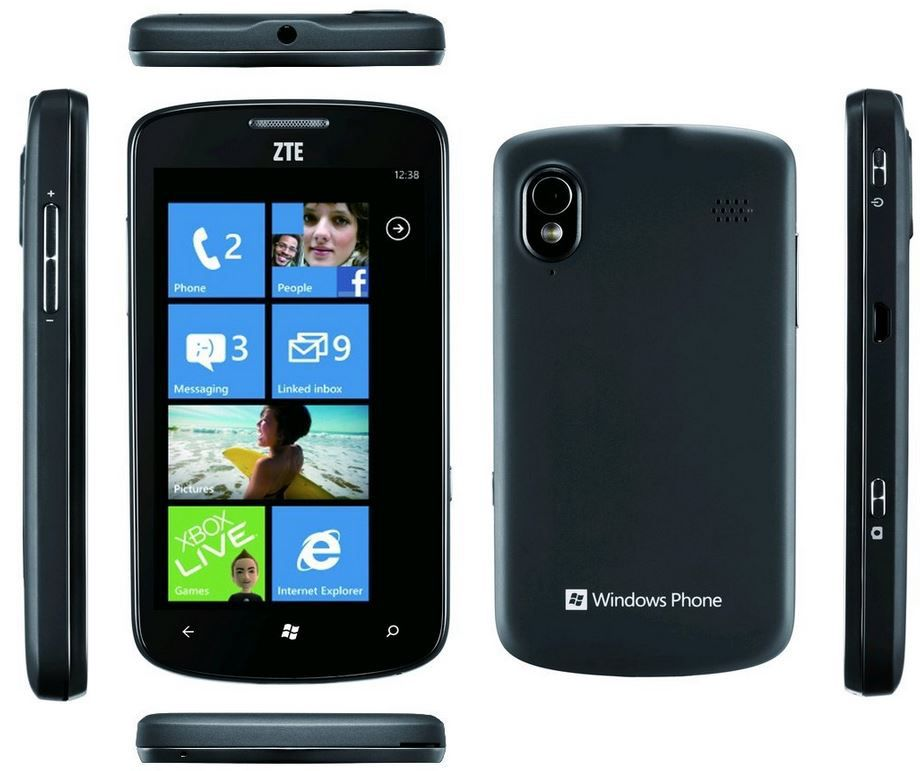 ZTE Tania Windows 7.5 Smartphone für 39,90€