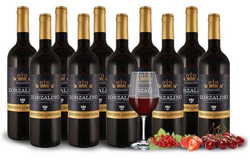 10 Flaschen Zorzalino Tempranillo oder Zorzalino Rosado für je 34,90€