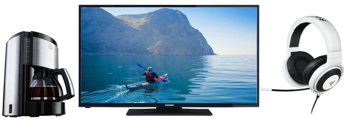 Telefunken D40F275I3C 40 Zoll smart TV   bei den 66 Amazon Blitzangeboten bis 11Uhr