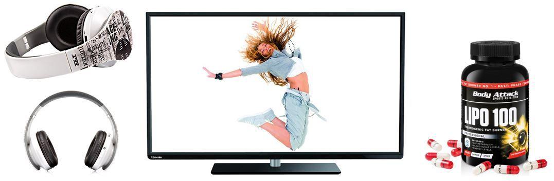 amazon Blitzangebote1 Toshiba 48L3443DG   48 Zoll WLan Smart TV   bei den 69 Amazon Blitzangeboten bis 11Uhr