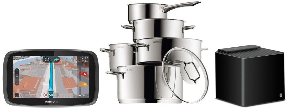 amazon Blitzangebote7 WMF Astoria   5 teiliges Kochgeschirr Set für 99,99€ bei den 24 Amazon Blitzangeboten ab 18Uhr