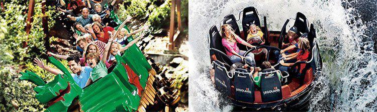 LEGOLAND Billund Resort   Familien Tagesticket für 3 Personen ab 69€