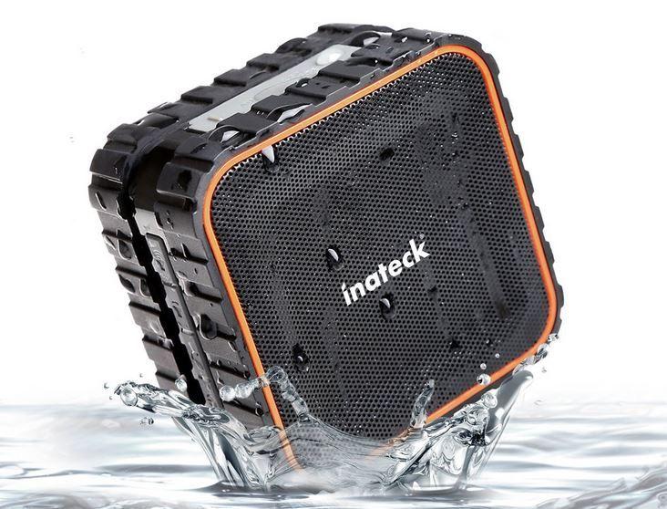 Inateck   wasserdichter mobiler Bluetooth Lautsprecher für 17,99€