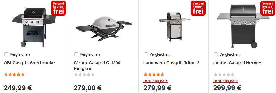 obi grill Obi mit 19% Rabatt ab 100€   nur heute Offline und Online   Update