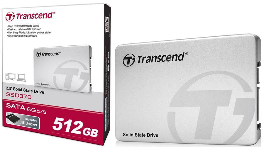 Transcend SSD370S   interne 512GB SSD mit Aluminium Gehäuse für 149€ (statt 163€)
