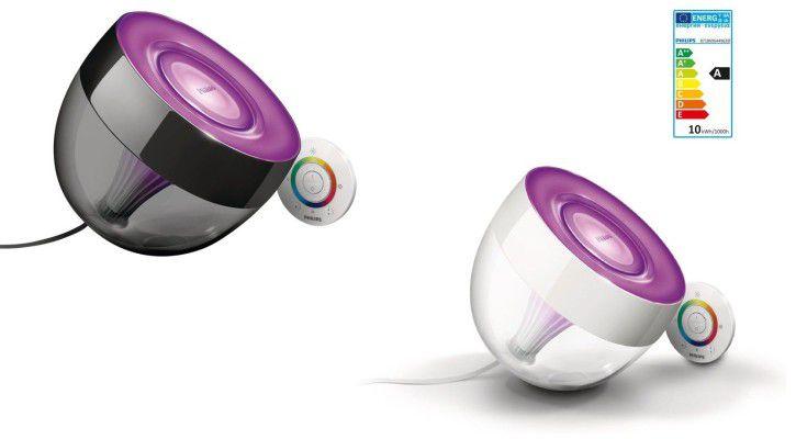 Philips LivingColors Iris Black oder Clear Stimmungslicht (EEK A) für 49,95€ (statt 55€)