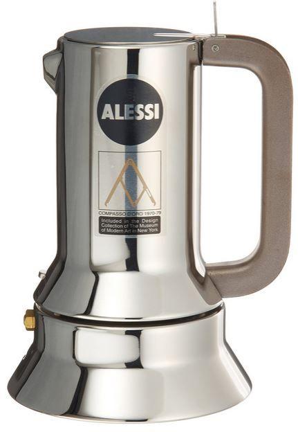 Alessi Alessi Espressomaschine   3.Tassen für alle Herdarten zum Preis von 79,80€