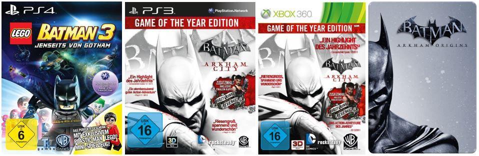 Batman: Arkham Origins für Konsolen ab 14,97€   bei den 42 Amazon Blitzangeboten ab 18Uhr