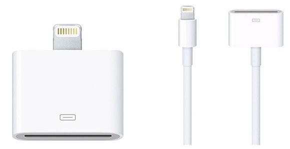 Apple Lightning auf 30 polig Apple Lightning auf 30 polig Adapter ab 2,99€   mit und ohne Kabel (0,2 Meter) verfügbar