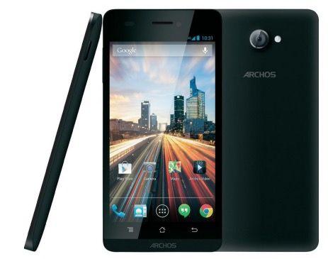 Archos 50b Helium 4G Archos 50b Helium 4G Dual SIM Smartphone für 134,89€   5 Zoll, 1,2 GHz, 1GB Ram, 8GB, Android 4.4