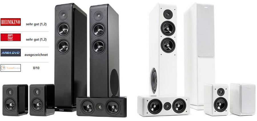 Audio Pro Avanto 5.0 HTS   5.0 Homecinema Boxenset ab 416,90€