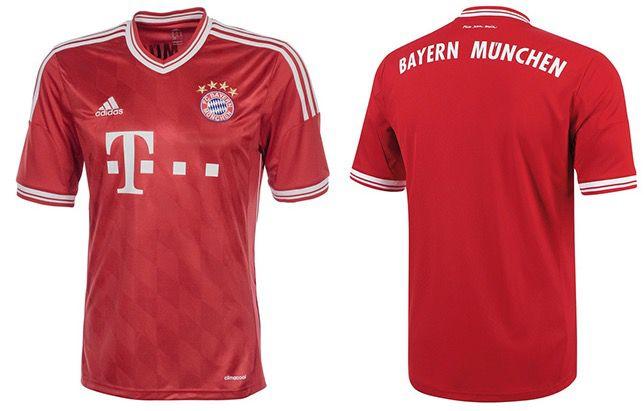 Bayern München Trikot Home adidas FC Bayern München Trikot Home 2013/2014 für 16,94€ (statt 30€)