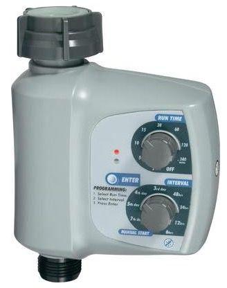Bewässerungs Timer Bewässerungs Timer mit einstellbaren Intervallen & Schalthäufigkeit für 17,99€