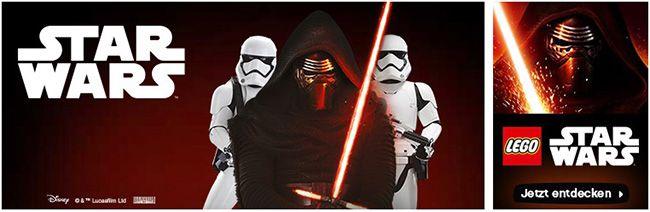 15% Rabatt auf Star Wars Artikel bei ToysRUs