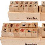 12-teiliges Stempelset mit verschiedenen Motiven für 2,15€ – China Gadget!
