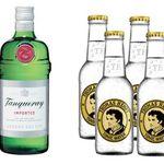 1,4 Liter Tanqueray Gin + 12 x 200ml Thomas Henry Tonic Water für 34,74€ (statt 49€)