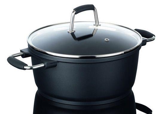 Bratoni Aluguss Kochtopf Bratoni Aluguss Kochtopf 24cm für 12,99€   nicht für Induktion geeignet!