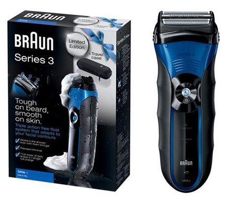Braun Series 3 340s Wet & Dry Rasierer für effektiv 30€   Update