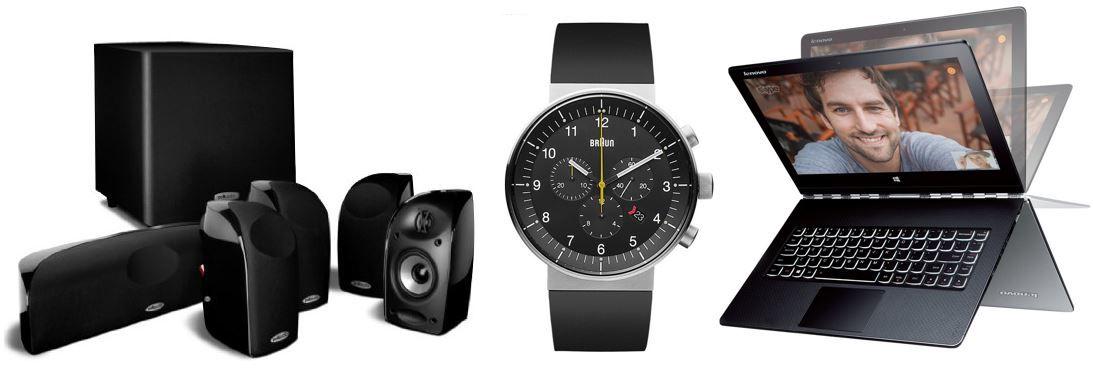 Braun Unisex-Armbanduhr