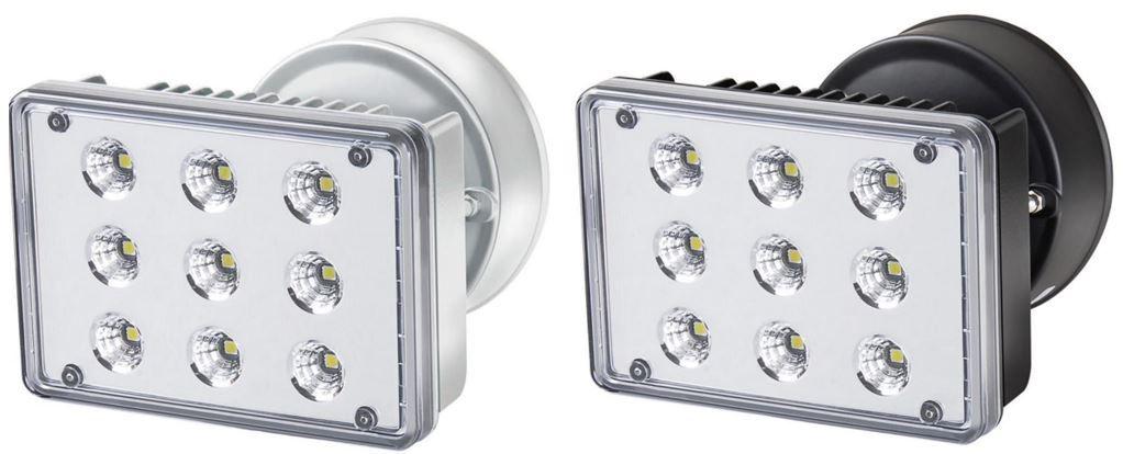 Brennenstuhl L903   LED Aussenleuchte IP55 26W in weiß oder schwarz für je 39,90€