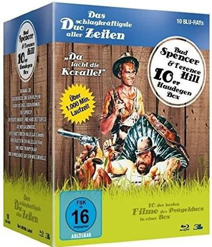 Preisfehler: Bud Spencer & Terence Hill   Jubiläums Collection Box (Blu ray) für 5,99€ Update