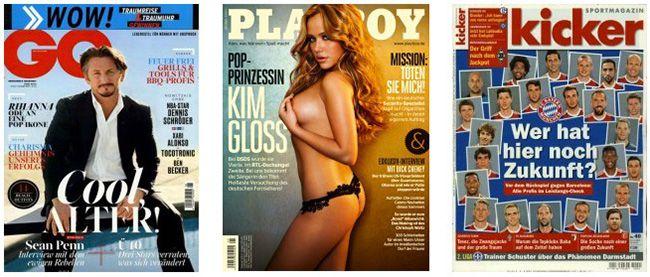 Burda Abos Vatertags Aktion bei Burda   z.B. 12 Ausgaben Playboy ab effektiv 20,80€   Update!