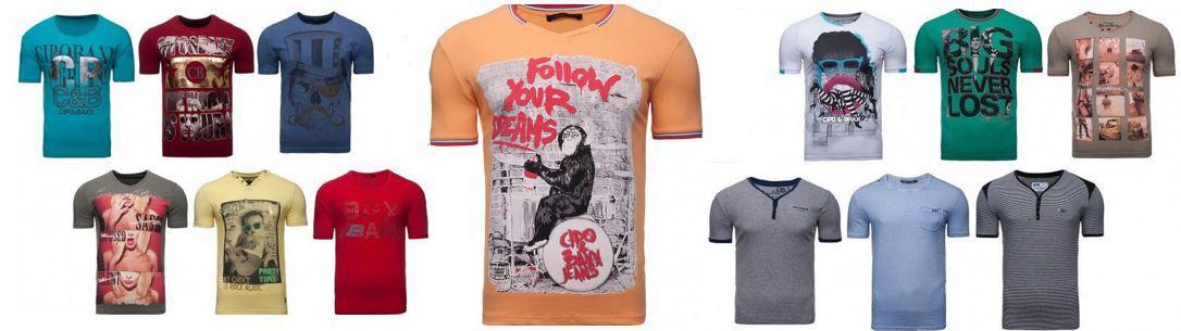 CIPO & BAXX   29 Herren T Shirts mit Motiv für je 12,99€